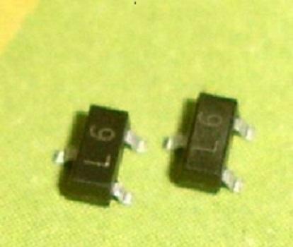 5x SMD transistor 2SC1623 met opdruk L6